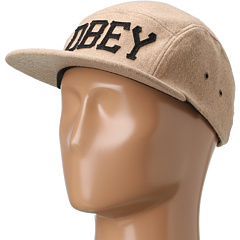 SALE! $14.99 - Save $11 on Obey Stadium 5 Panel Hat (Heather Oatmeal) Hats - 42.35% OFF $26.00