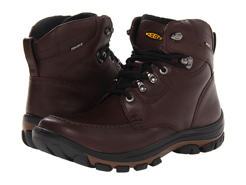 Keen - Nopo Boot (Brown Full Grain) Men's Lace-up Boots