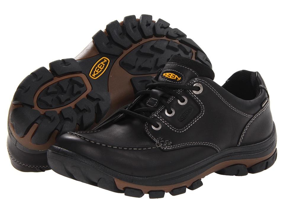 Keen - Nopo Lace (Black Full Grain) Men's Lace up casual Shoes
