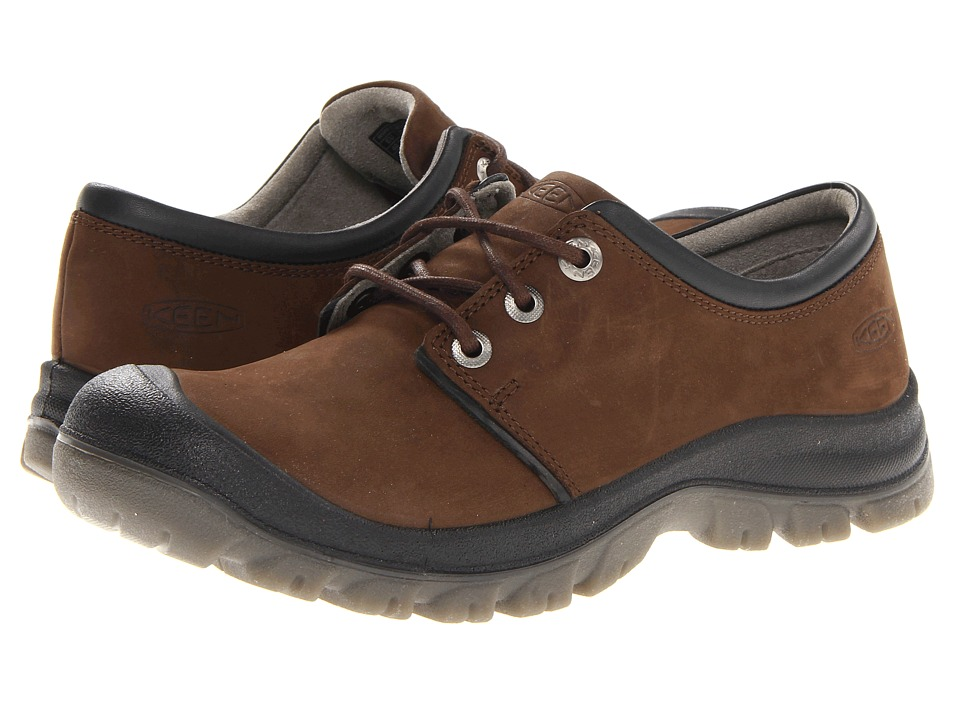 Keen - Barkley Lace (Dark Earth) Men's Lace up casual Shoes