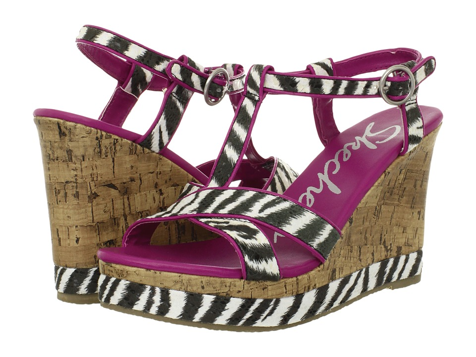 SKECHERS - Bomb Shell - Fantasia (Zebra) Women's Sandals
