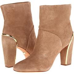 Diane von Furstenberg Glenda (Honey Wheat Suede Gold) Footwear