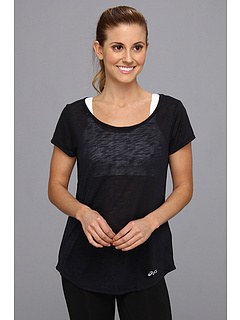SALE! $17.99 - Save $20 on ASICS PR Slub S S Top (Black) Apparel - 52.66% OFF $38.00