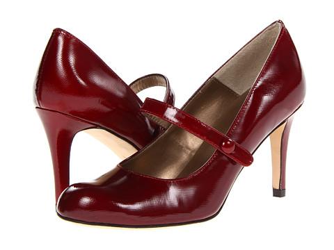 Vaneli - Lenita (Red Soffio Patent) Women's Shoes