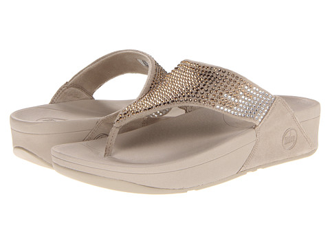 FitFlop - Flare Leather (Pebble Leather) Women's Sandals