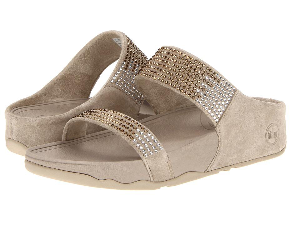 FitFlop Flaretm Slide Leather (Pebble Leather) Women