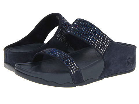 fitflop flare supernavy size 4