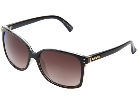 VonZipper - Castaway (Black Crystal/Gradient) Sport Sunglasses