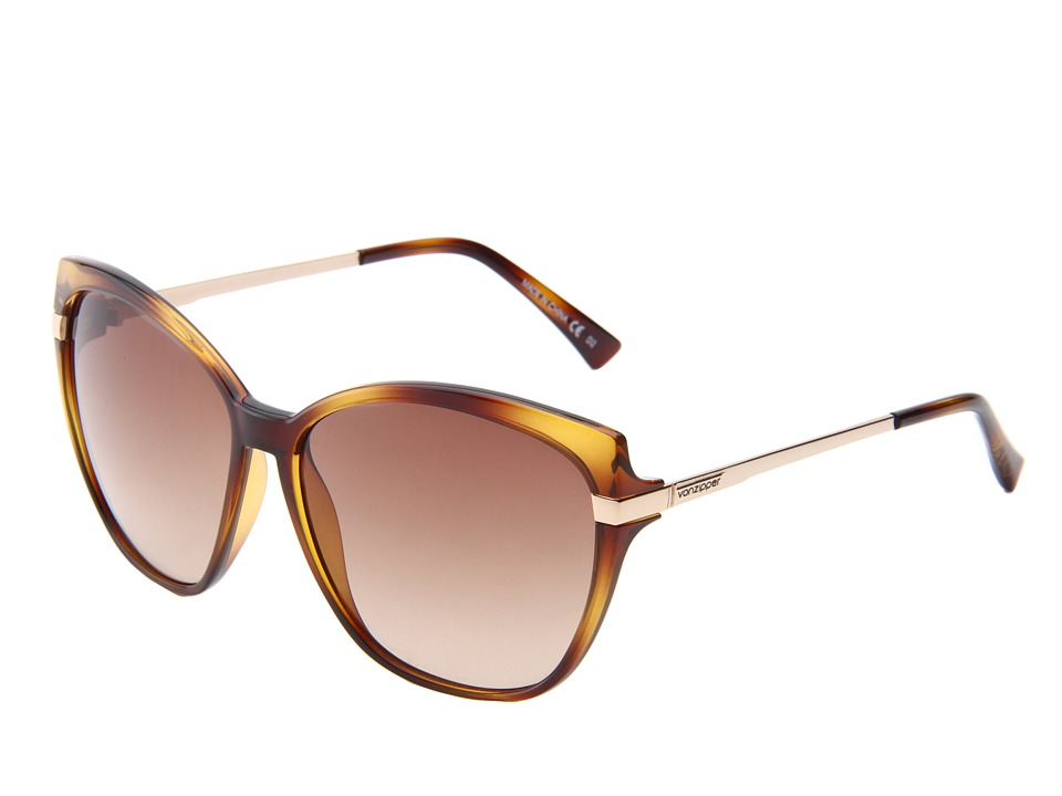 VonZipper - Begonia (Tortoise/Gradient) Metal Frame Fashion Sunglasses