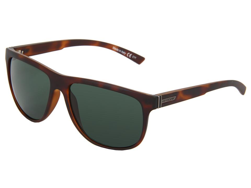 VonZipper - Cletus (Tortoise) Plastic Frame Sport Sunglasses