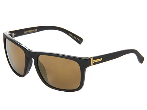 VonZipper - Lomax (Black/Gold Chrome) Sport Sunglasses