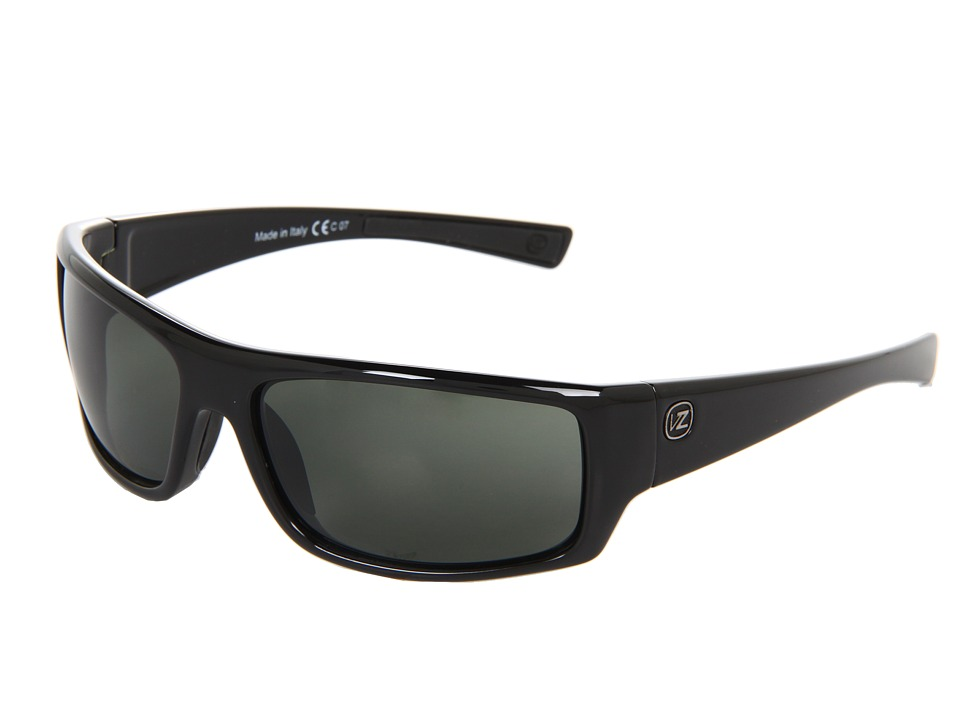 VonZipper - Scissorkick (Black/Grey) Sport Sunglasses
