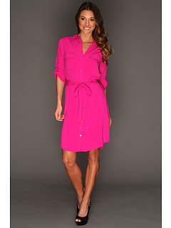 SALE! $59.99 - Save $70 on Calvin Klein Shirt Dress 2 (Dahlia) Apparel - 53.68% OFF $129.50