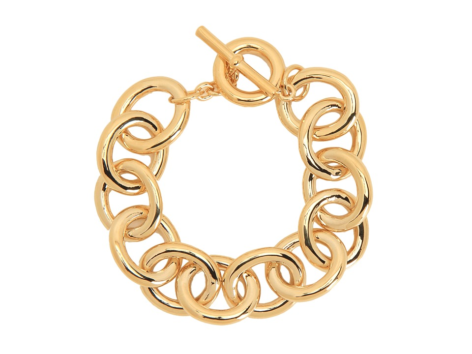 LAUREN Ralph Lauren - Rolo Link Bracelet (Gold) Bracelet