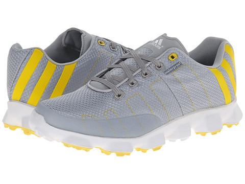 adidas Golf - Crossflex (Chrome/Vivid Yellow/Running White) Men's Golf Shoes