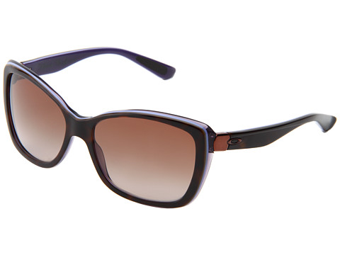 Oakley - News Flash (Tortoise Dusk/Dark Brown Gradient) Sport Sunglasses