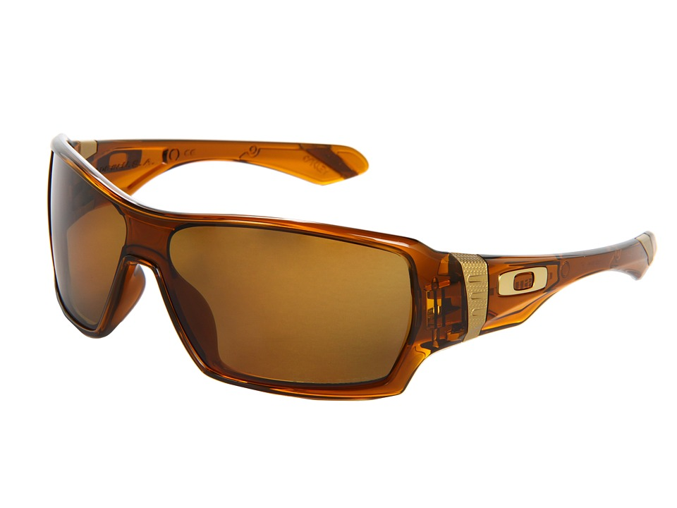 Oakley - Offshoot (Dark Amber/Bronze Polarized) Sport Sunglasses