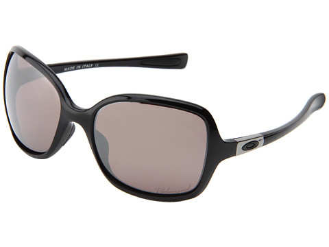 Oakley - Obsessed (Polished Black/OO Black Iridium PolarizedBlack) Sport Sunglasses