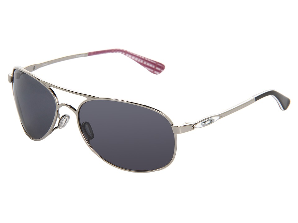 Oakley - Given (Polished Chrome/Grey) Sport Sunglasses