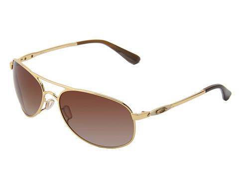 Oakley - Given (Polished Gold/Dark Brown Gradient) Sport Sunglasses