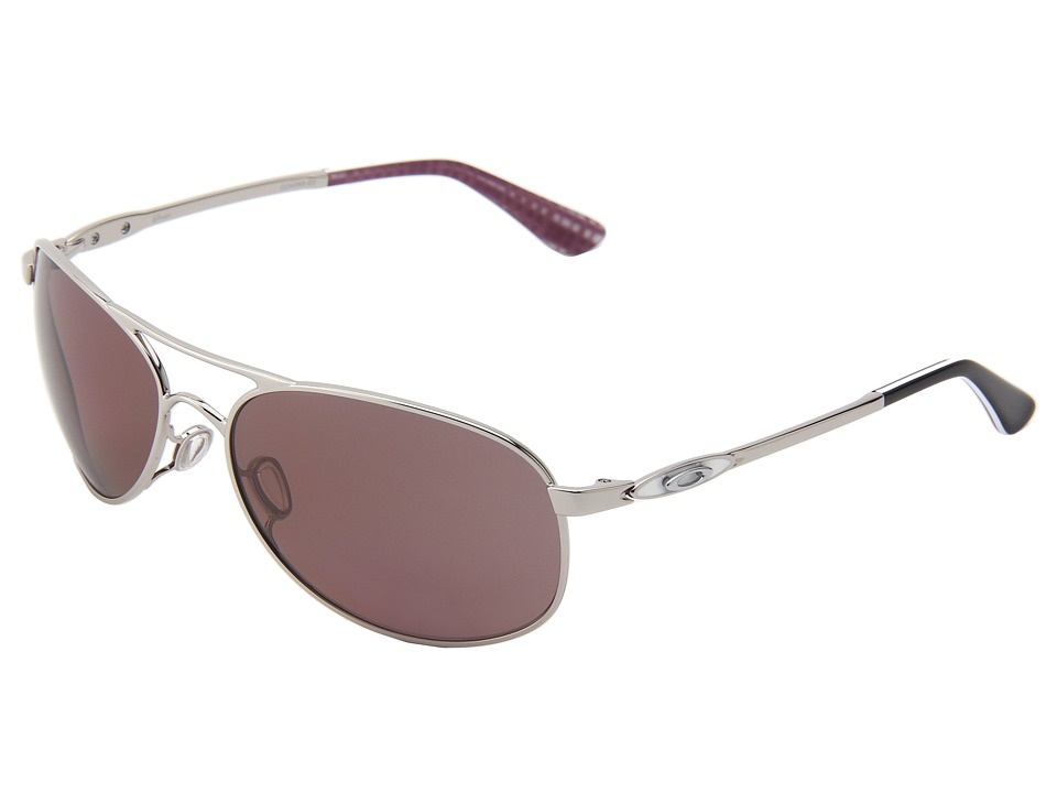 Oakley - Given (Polished Chrome/OO Grey Polarized) Sport Sunglasses