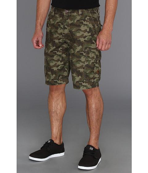 DC - Deploy Cargo Short (Woodland Camo) Men's Shorts