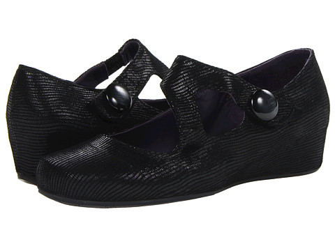 Vaneli - Matro (Black Miniliz Print) Women's Wedge Shoes