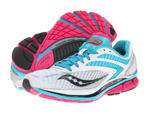 Saucony - Cortana 3 W (White/Blue/Pink) Women's Running Shoes
