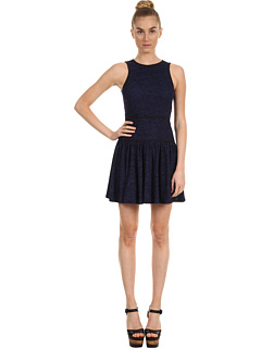 SALE! $104.99 - Save $240 on Tibi Space Dyed Jersey Flirty Dress (Blue) Apparel - 69.57% OFF $345.00