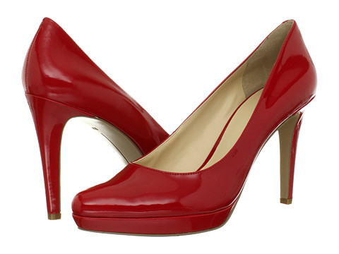Shop Nine West online and buy Nine West Beautie Red Synthetic Shoes - Nine West - Beautie (Red Synthetic) - Footwear: These posh pumps are a true thing of beauty! ; Easy slip-on wear. ; Available in a variety of uppers. ; Man-made lining. ; Lightly cushioned man-made footbed. ; Wrapped platform and heel. ; Man-made sole. ; Imported. Measurements: ; Heel Height: 3 3 4 in ; Weight: 10 oz ; Platform Height: 1 2 in ; Product measurements were taken using size 9, width M. Please note that measurements may vary by size.