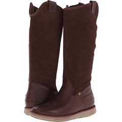 Cushe Manuka Lite Rider WP (Brown Leather) Footwear
