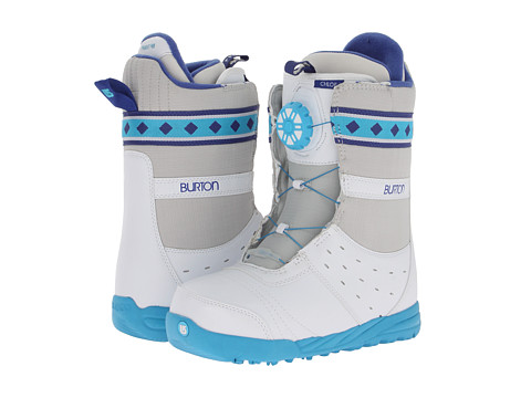 Burton - Chloe (White/Blue) Women's Snow Shoes