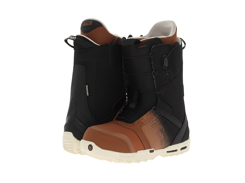 Burton - Ambush (Black/Brown) Men
