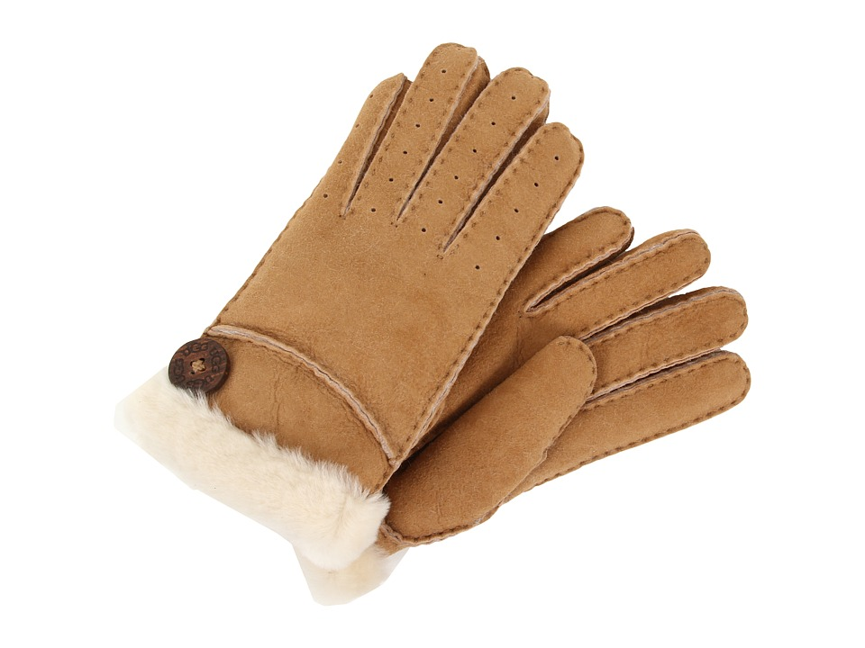 UGG - New Bailey Glove (Chestnut) Dress Gloves