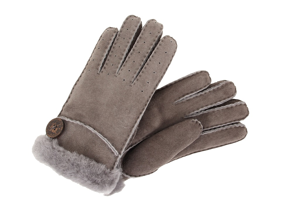 UGG - New Bailey Glove (Grey) Dress Gloves