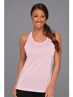 SALE! $16.5 - Save $14 on New Balance Heather Racerback (Pink Glo) Apparel - 45.00% OFF $30.00
