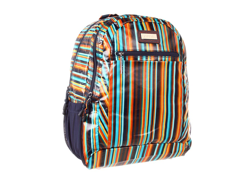 Hadaki - Arabesque Stripes - Printed Coated Cool Backpack (Arabesque Stripes) Backpack Bags