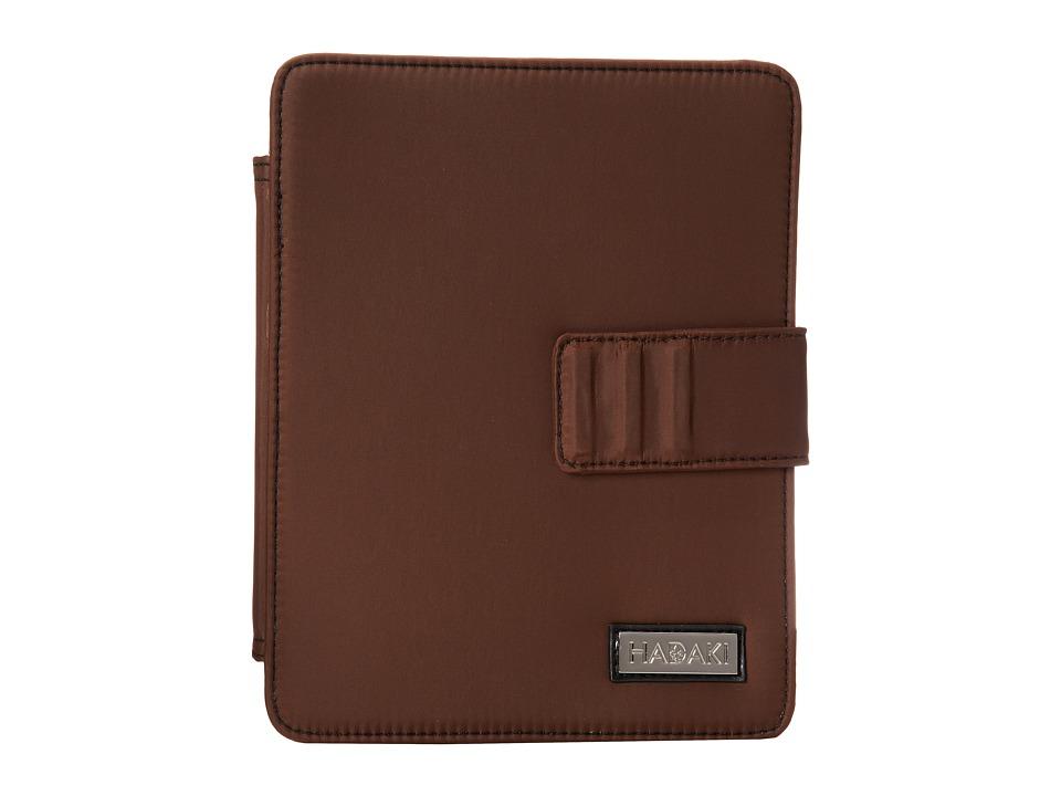 Hadaki - Arabesque Solids - Nylon Tablet Wrap (Chocolate/Black) Wallet