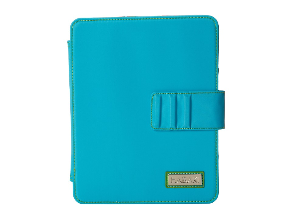 Hadaki - Mardi Gras Solids - Nylon Tablet Wrap (Aqua/Apple) Wallet