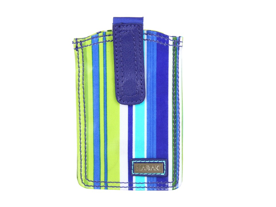 Hadaki - Jazz Stripes - Coated Phone Pod (Jazz Stripes Cobalt) Wallet