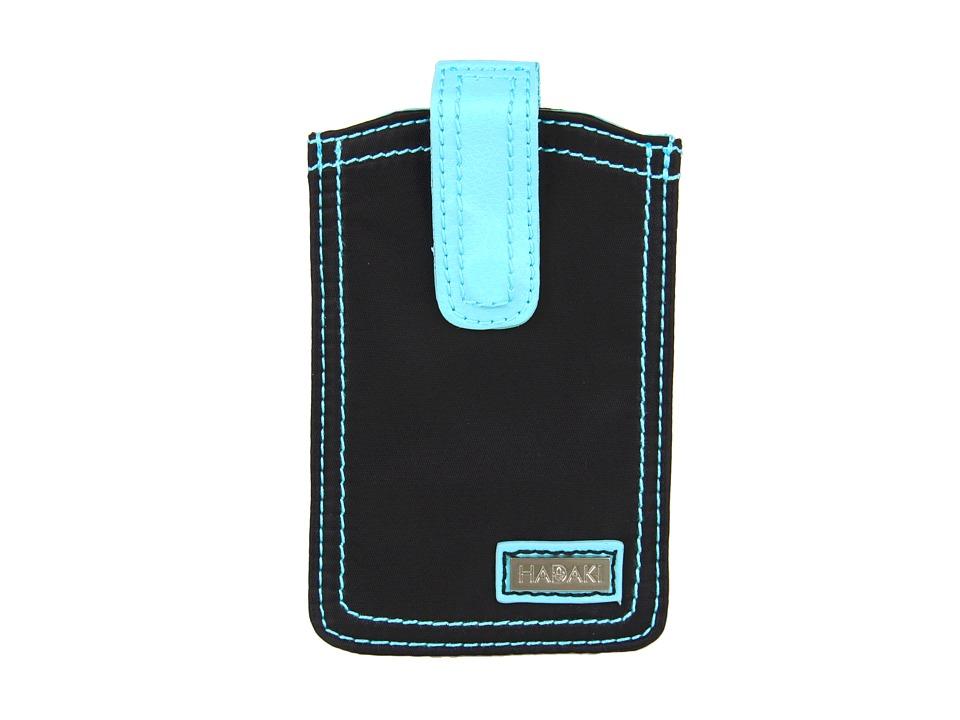 Hadaki - Mardi Gras Solids - Phone Pod (Black/Aqua) Wallet