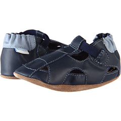 SALE! $14.99 - Save $10 on Robeez Fisherman Sandal (Infant Toddler) (Navy) Footwear - 40.04% OFF $25.00