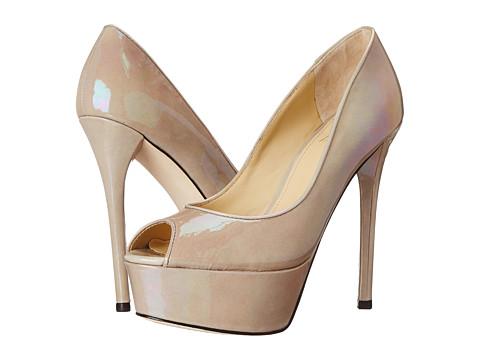 B Brian Atwood - Bambola (Grey Patent) High Heels