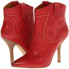 Nine West Branded (Red Natural Leather) Footwear
