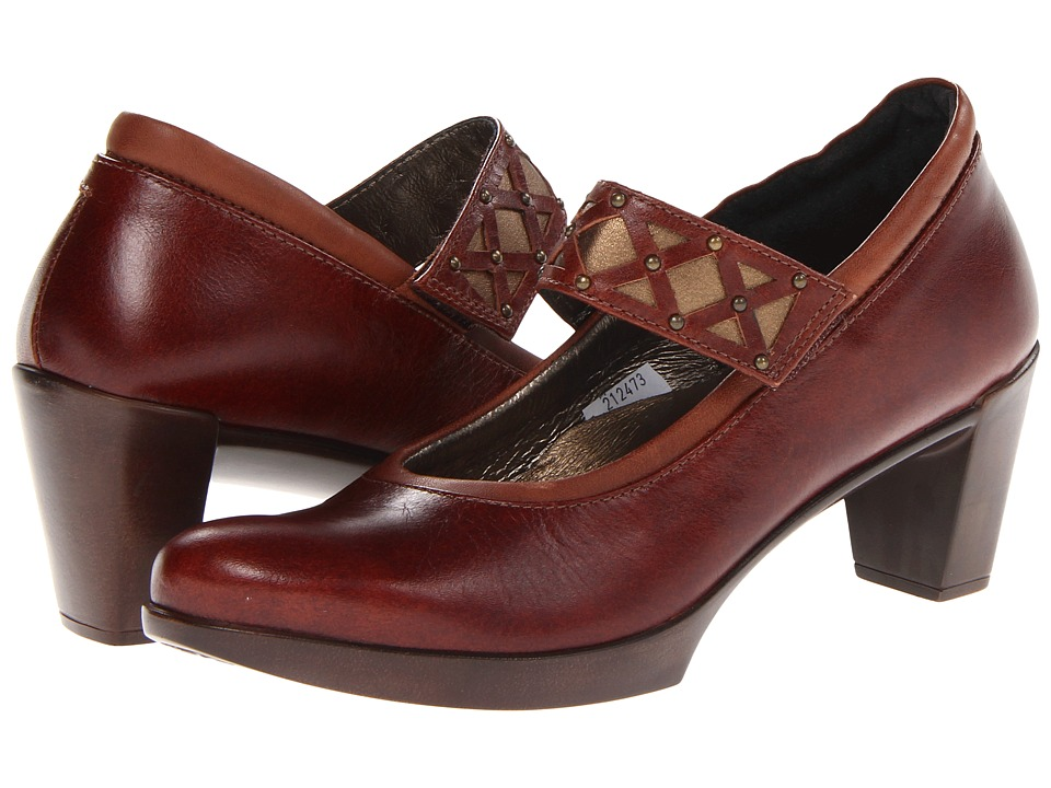 Naot Footwear Corallo (Luggage Brown Leather/Cinnamon Leather/Luggage Brown Leather/Gre) Women