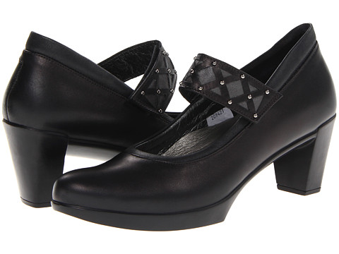 Naot Footwear - Corallo (Black Raven Leather/Shiny Black Leather/Black Raven Leather/Shad) Women