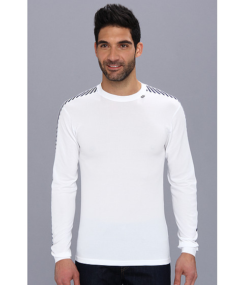Helly Hansen - HH Dry Stripe Crew (White) Boy