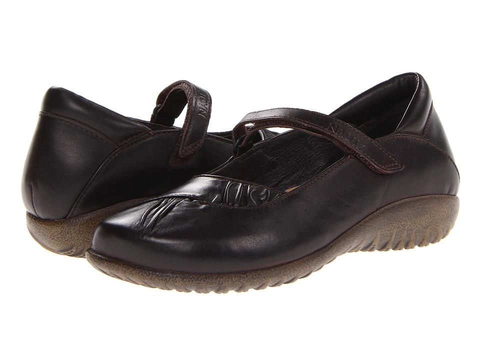 Naot Footwear - Taramoa (French Roast Leather) Women's Maryjane Shoes