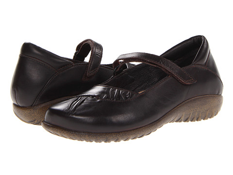 Naot Footwear - Taramoa (French Roast Leather) Women's Maryjane Shoes