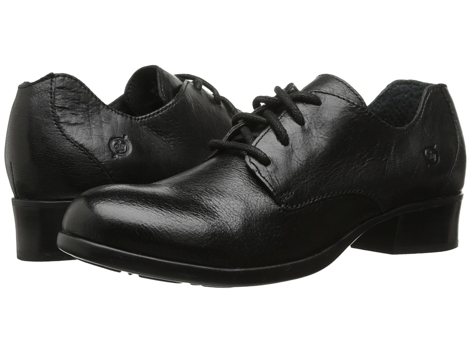 Born - Mott (Black Full Grain) Women's Lace up casual Shoes